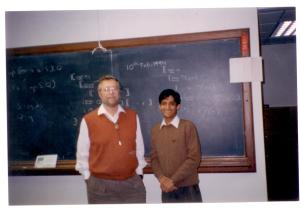 Photo with Dijkstra (10th Feb, 1994)