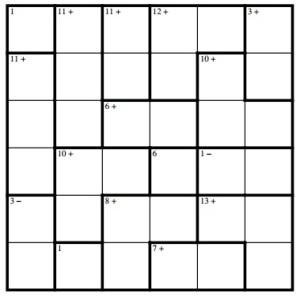 Puzzle 88 - Difficult