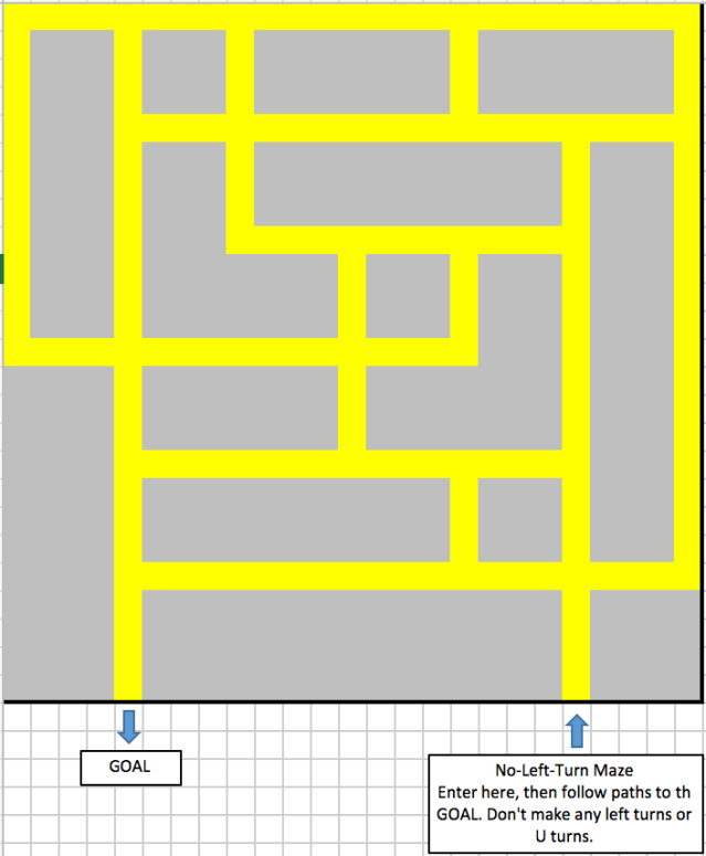 Puzzle #200: Find the way to the GOAL